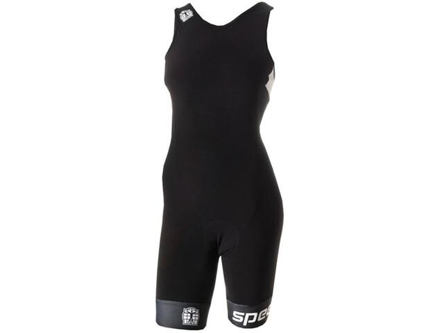 Bioracer Tri Elite Bathing Suit Women, black-white